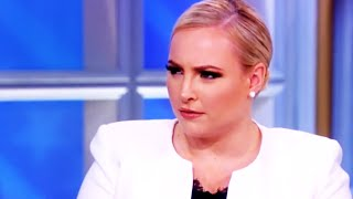 Meghan McCain Too Dumb To Notice Joy Behar's Subtle Jabs