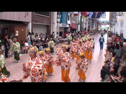 桜井幼稚園 ~2014高知よさこい祭り・本祭2日目(帯屋町演舞場)