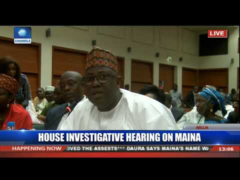 I Take Responsibility For Any Wrongdoing From The Ministry Of Interior-- Magaji