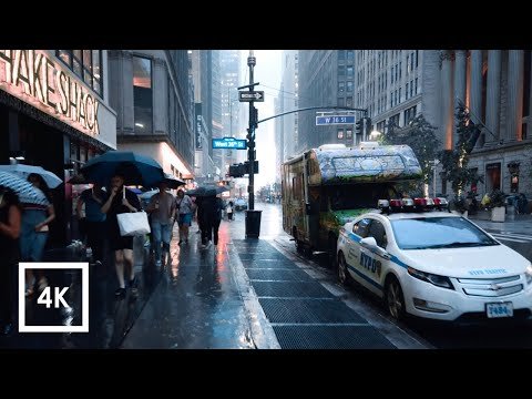 Regen in Manhattan