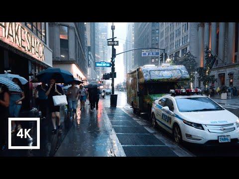 Regen in Manhattan