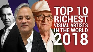 Top 10 Richest Visual Artist In The World 2018