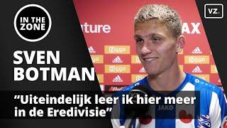 Ajax-huurling Sven Botman: 'Uiteindelijk leer ik hier meer in de Eredivisie'