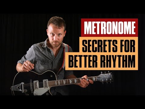 How to Use a Metronome for Better Rhythm | Beginner Guitar Lesson | Guitar Tricks