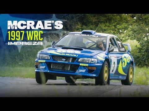 We Drove Colin McRae's 1997 Subaru Impreza WRC Car! | Carfection 4K