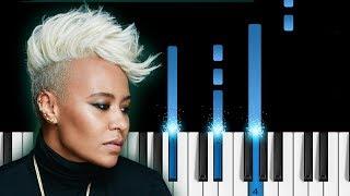 Emeli Sandé   Sparrow   EASY Piano Tutorial