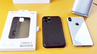 iPhone 11 Pro/ XS / X: Cirrus 2 Double Layered Case with Embedded Magnet