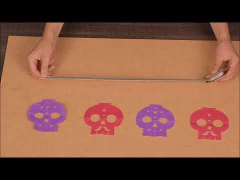 De Dödas Dag - DIY Girlang med dödskallar