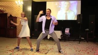 Самый сумасшедший танец жениха и невесты!!!2015