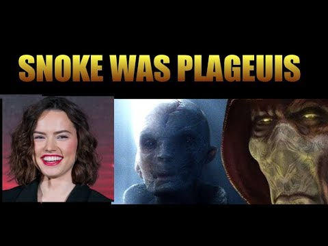 Daisy Ridley (kind of) reveals Snoke was Plageuis