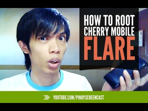 Cherry Mobile Flare Rooting Tutorial - Easiest Way [Tagalog]