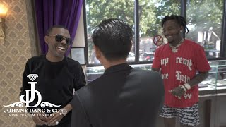Sauce Walka, Lil Duval, & 30Rich Exchange Jewelry Game