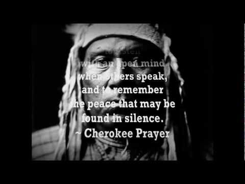 """Cherokee Morning Song: """"I am of the Great Spirit"""""""