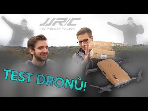 TEST DRONŮ JJRC H47 & SOUTĚŽ | Unboxing