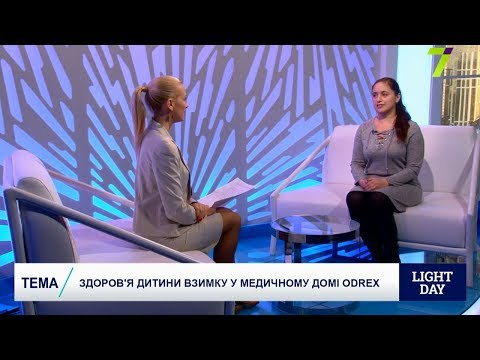Здоровье детей зимой - педиатр Светлана Козлова в эфире 7 канала