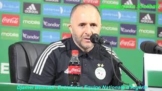 Conférence de presse de Djamel Belmadi (Algérie – Botswana)