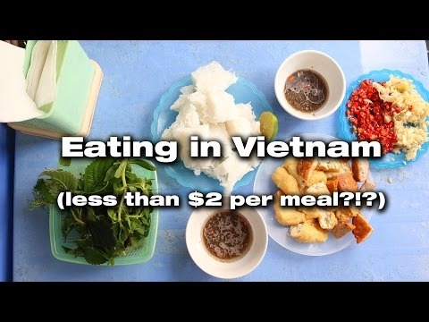 Eating in Vietnam (less than  per meal?!?)