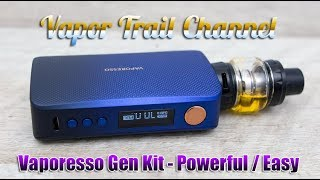 Vaporesso Gen Kit w/ Skarr S Tank - Powerful & Easy!