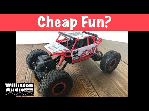 $30 RC Car that Doesn't Suck? 1:18 and 4WD! (4K)