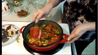 LECSO -  Easy Hungarian Recipe - Hungarian  Ratatouille