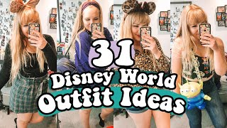 31 DISNEY WORLD OUTFIT IDEAS! | Comfortable Theme Park Outfits