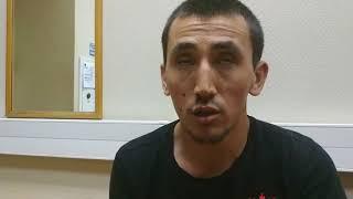 Допрос наехавшего на людей в Москве таксиста.