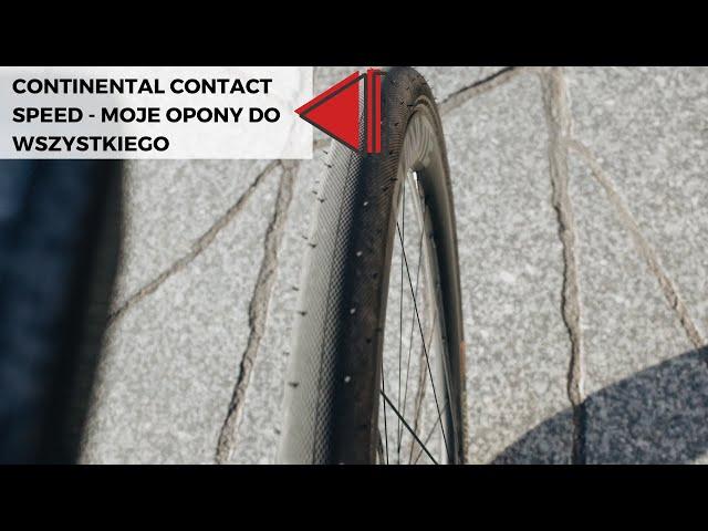 "Видео Покрышка Continental Contact Speed, 28"", 700x32C, folding, Skin"
