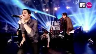 Big Time Rush   Big Time Rush live   MTV Push