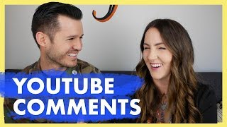 Reacting to Crazy YouTube Comments with My Wife Amy