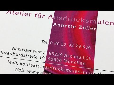 Videointerview mit Annette Zoller Atelier für Ausd