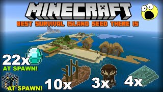 minecraft xbox one edition survival island seed 2019 - TH-Clip