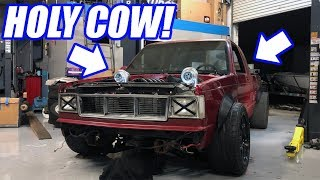 Mocking Up Our ALL-WHEEL-DRIVE Turbo Truck Build!