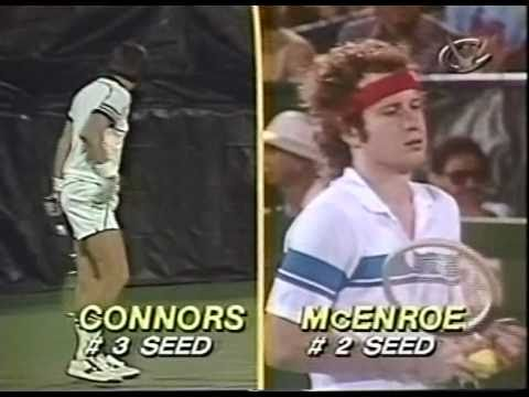 McEnroe vs Connors - Semi Final US Open 1980 - 14/16