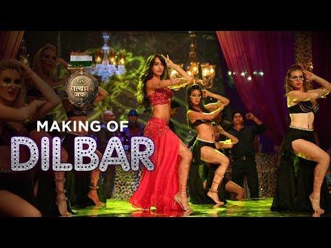 Making of DILBAR Song | Satyameva Jayate | John Abraham | Nora Fatehi -  Музыка для Машины