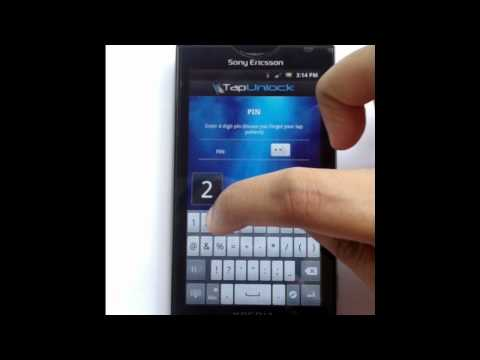 Video of Tap Unlock (Screen unlock)
