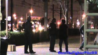 Bus driver verbally asulted by drunk passenger at DART Ledbetter rail station Dallas 1/25/13