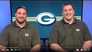 Packers Bakhtiari And Linsley On Holding, Shaving, Loving - Well, Not Really