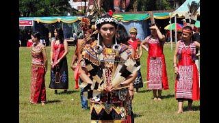 Gawai Dayak Kapuas Hulu Kalimantan Barat Indonesia Borneo Culture Travel Guide 印度尼西亚西加里曼丹甘布安斯乌鲁丰收节日