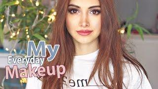 Мой повседневный макияж/Everyday makeup routine