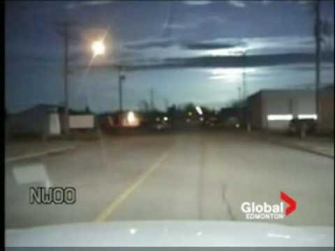 Meteor nad Kanadą