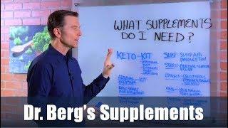 Dr. Berg's Supplements