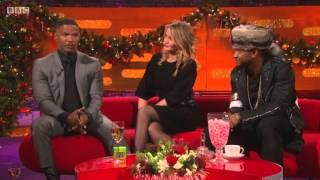Usher On 'The Graham Norton Show' with Jamie Fox and Cameron Diaz