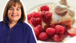 Barefoot Contessa Makes Tres Leches Cake with Berries   Food Network