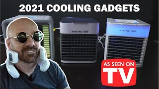 Testing 3 As Seen on TV Cooling Gadgets NEW in 2021