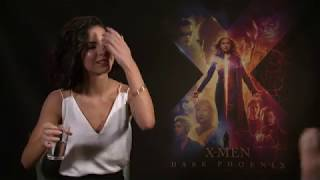 Lena Meyer Landrut Full Interview X MEN DARK PHOENIX Movie BOUNDARIES