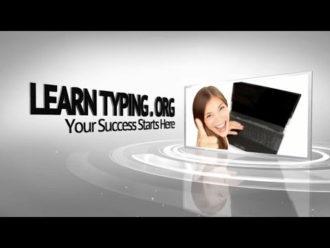 Learn Typing Tutorial  - Beginner Lesson 1
