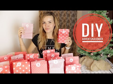 DIY Adventskalender befüllen. Günstige Geschenk-Ideen