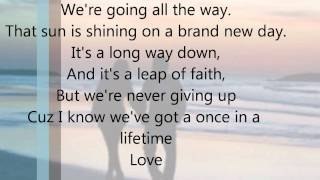 Once in a lifetime by Keith Urban Lyrics