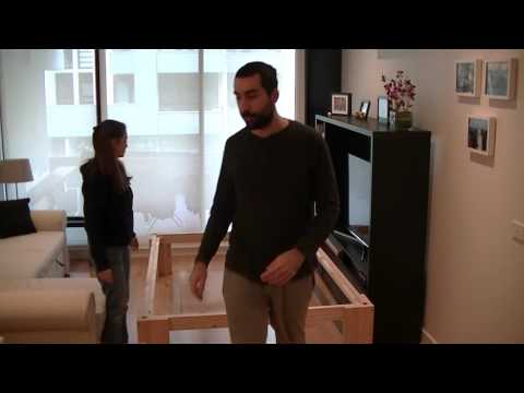 Falegnameria a casa - Letto per ospiti
