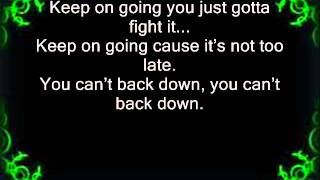 Can't Back Down - Eminem feat. Anna